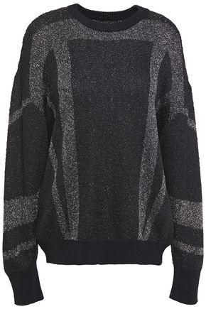 IRO Dock metallic knitted sweater