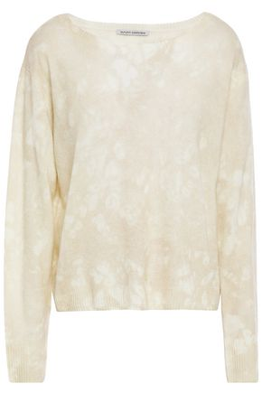 COTTON by AUTUMN CASHMERE Tie-dyed cashmere sweater