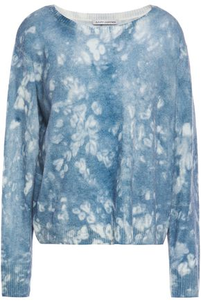 AUTUMN CASHMERE Tie-dyed cashmere sweater