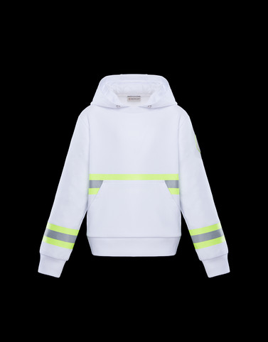 SWEATSHIRT White Junior 8-10 Years - Boy