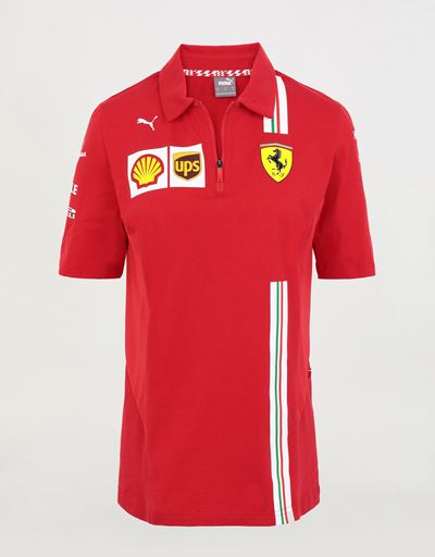 Women's Scuderia Ferrari 2020 Replica team polo shirt