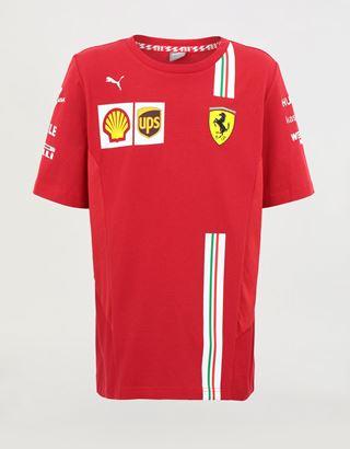 Scuderia Ferrari Online Store - Kids' Scuderia Ferrari 2020 Replica team T-shirt - Short Sleeve T-Shirts