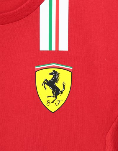 Scuderia Ferrari Online Store - Scuderia Ferrari 2020 Replica kids' team T-shirt - Short Sleeve T-Shirts