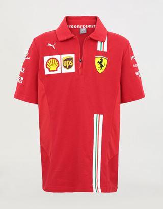 Scuderia Ferrari Online Store - Boys' Scuderia Ferrari 2020 Replica team polo shirt - Short Sleeve Polos