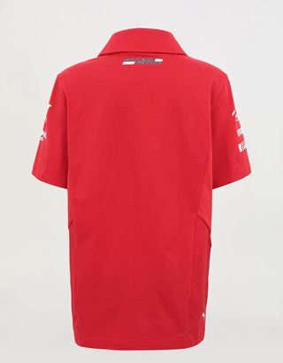 Scuderia Ferrari Online Store - Scuderia Ferrari 2020 Replica kids' team polo shirt - Short Sleeve Polos