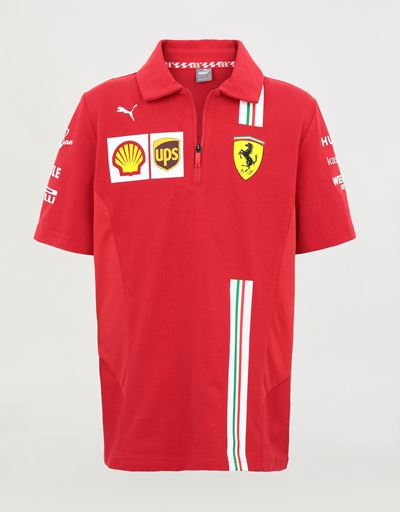 Scuderia Ferrari 2020 Replica kids' team polo shirt