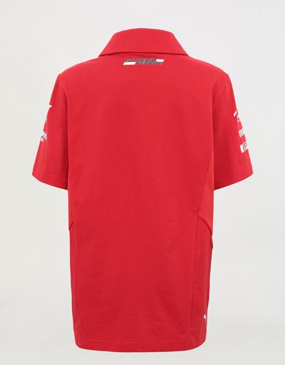 Boys' Scuderia Ferrari 2020 Replica team polo shirt