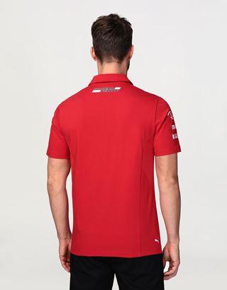Scuderia Ferrari Online Store - Men's Scuderia Ferrari 2020 Replica polo shirt - Short Sleeve Polos