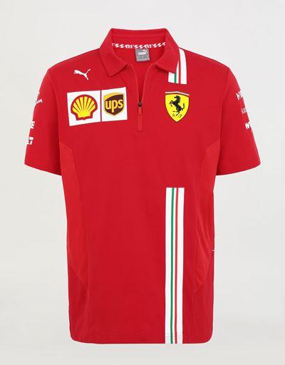 Polo team Scuderia Ferrari Replica 2020 homme