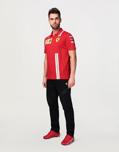Men's Scuderia Ferrari 2020 Replica polo shirt