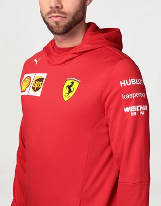 Scuderia Ferrari Online Store - Scuderia Ferrari 2020 Replica men's team sweatshirt - Hooded Jumpers