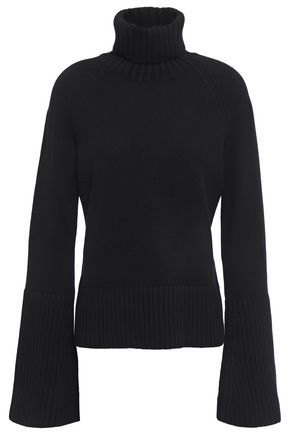 MICHAEL KORS COLLECTION Ribbed cashmere turtleneck sweater