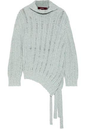 SIES MARJAN メランジリブ編みカシミヤ&ウール混 セーター