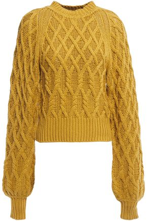EQUIPMENT Roesia cable-knit cotton sweater