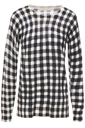 MICHAEL MICHAEL KORS Gingham wool sweater