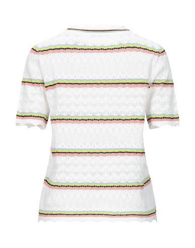 Фото 2 - Женский свитер CUBIC белого цвета