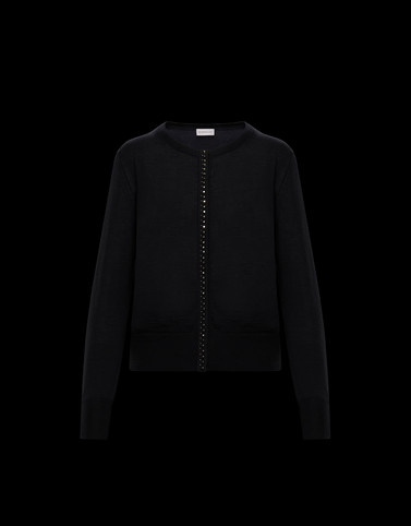 CARDIGAN Black Knitwear Woman