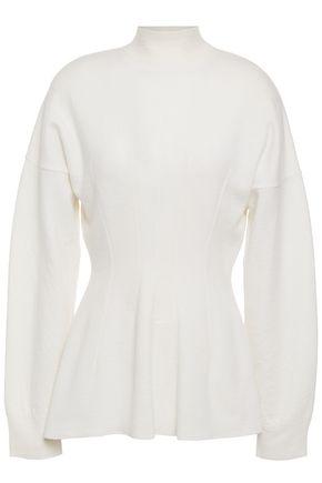 STELLA McCARTNEY Wool turtleneck peplum sweater