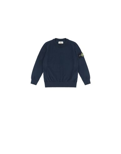 STONE ISLAND BABY 502A4 Sweater Man Blue USD 85
