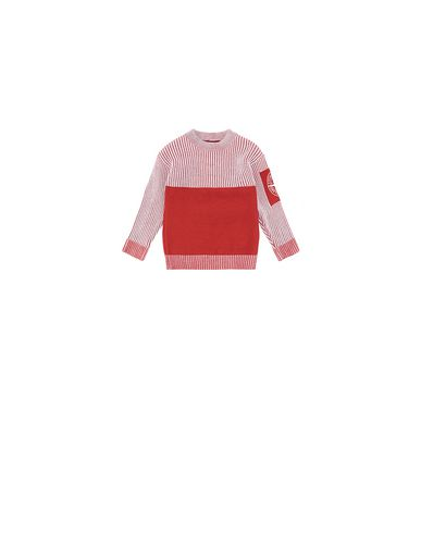 STONE ISLAND BABY 510D1 Sweater Man Brick red EUR 172
