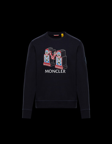 SWEATSHIRT Dark blue 2 Moncler 1952 Man