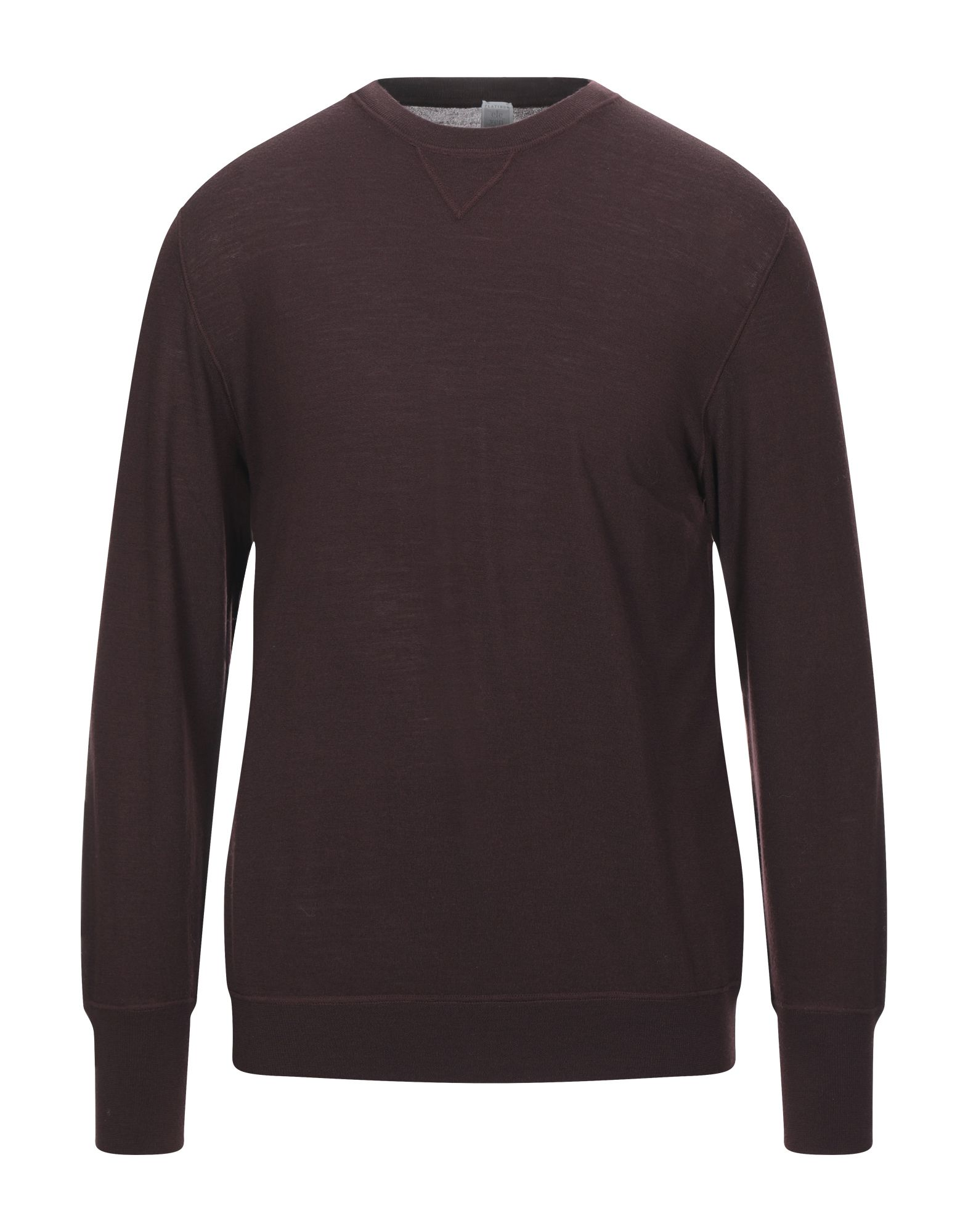 ELEVENTY Sweaters. knitted, no appliqués, basic solid color, round collar, lightweight sweater, long sleeves, no pockets, small sized. 100% Wool