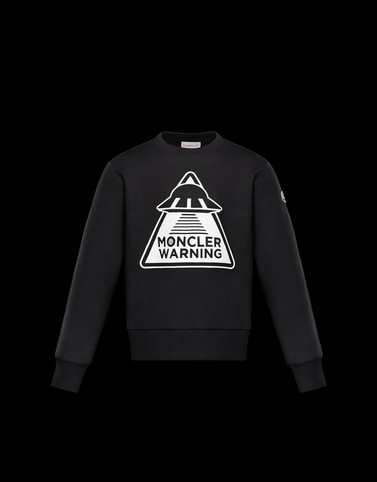 SWEATSHIRT Black Junior 8-10 Years - Boy