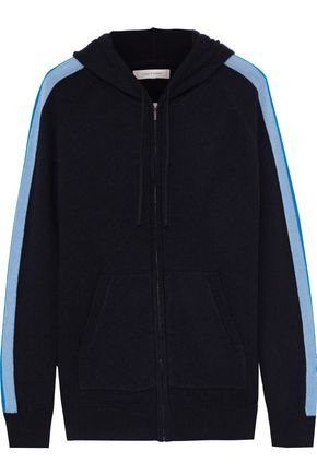 CHINTI & PARKER Wool and cashmere-blend hooded sweater