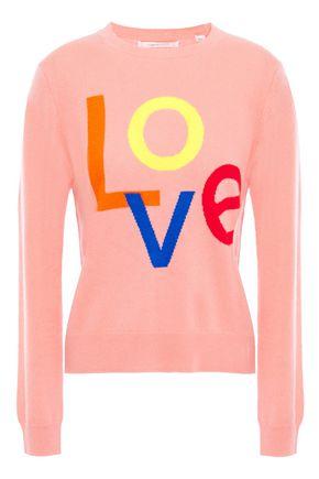 CHINTI & PARKER Intarsia cashmere sweater