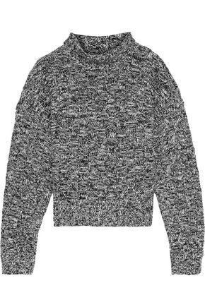 REBECCA MINKOFF Montana cotton-blend jacquard turtleneck sweater