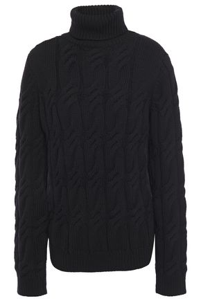 J BRAND Noella cable-knit wool turtleneck sweater