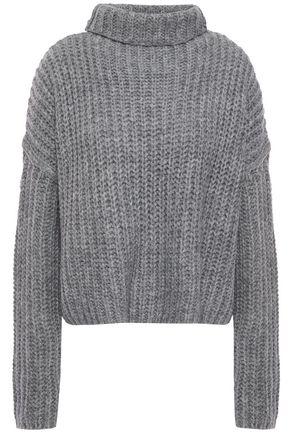 REBECCA MINKOFF Kacey ribbed-knit turtleneck sweater