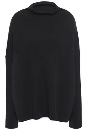 VINCE. Mélange wool-blend turtleneck sweater