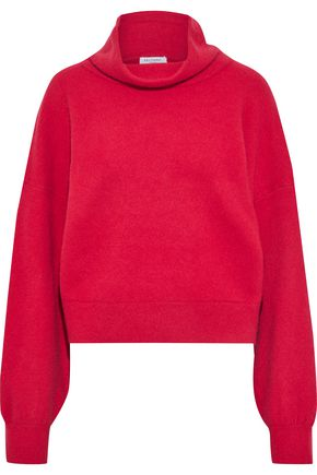 EQUIPMENT Brushed-felt wool-blend sweater