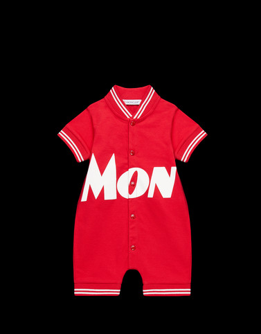 ROMPERS Red Baby 0-36 months - Girl Woman