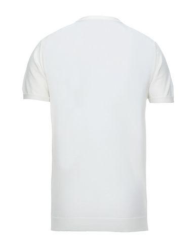Фото 2 - Мужской свитер BECOME белого цвета