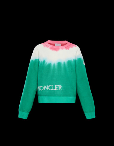 CREWNECK Green Junior 8-10 Years - Girl Woman