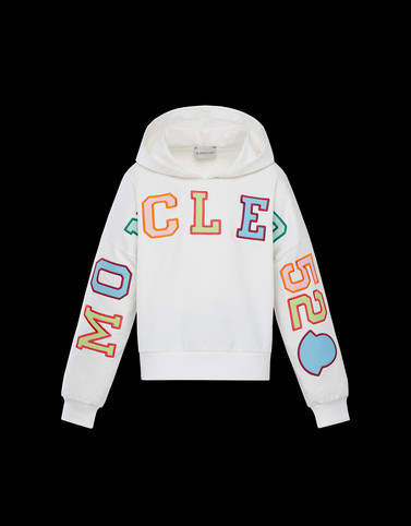 SWEATSHIRT White Junior 8-10 Years - Girl Woman