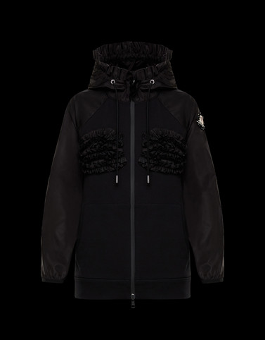 KNIT CARDIGAN Black 4 Moncler Simone Rocha Woman