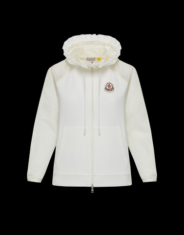 KNIT CARDIGAN White 4 Moncler Simone Rocha Woman
