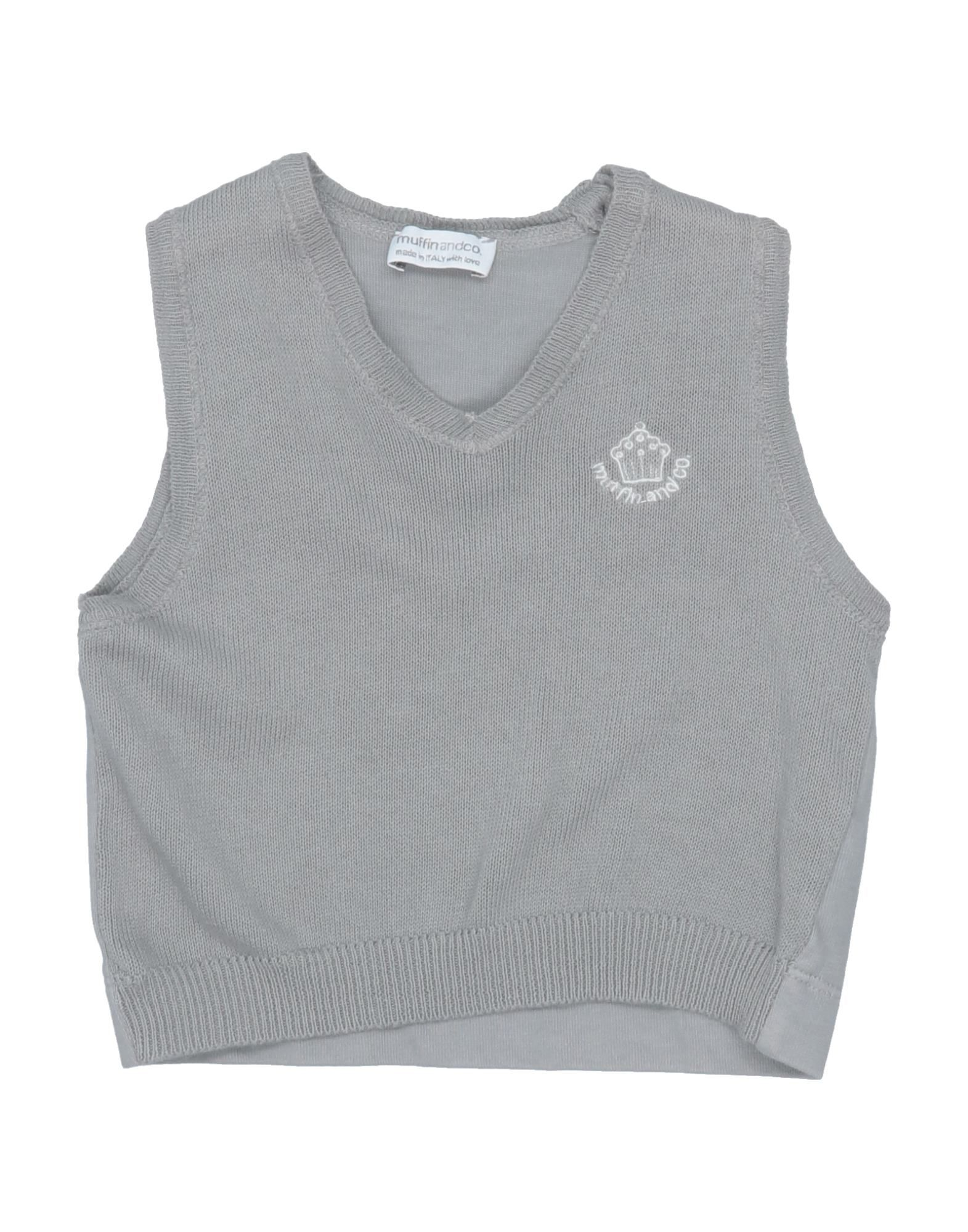 Muffin & Co. Kids' Sweaters In Gray