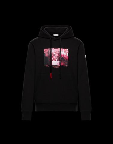 SWEATSHIRT Black Sweatshirts Man