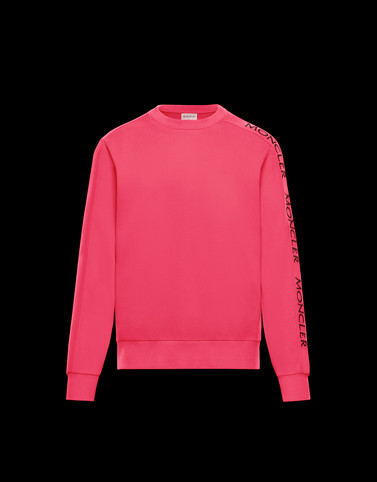 SWEATSHIRT Fuchsia Category Sweatshirts Man