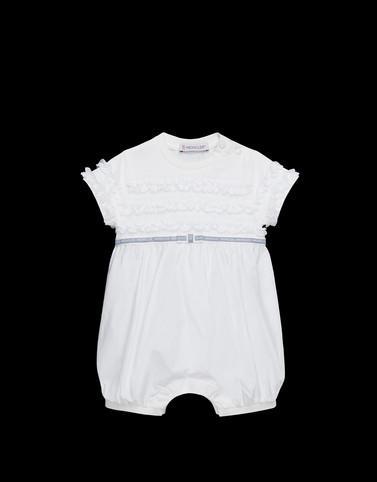 ROMPERS Blanc Bébé 0 - 36 mois - Fille Femme