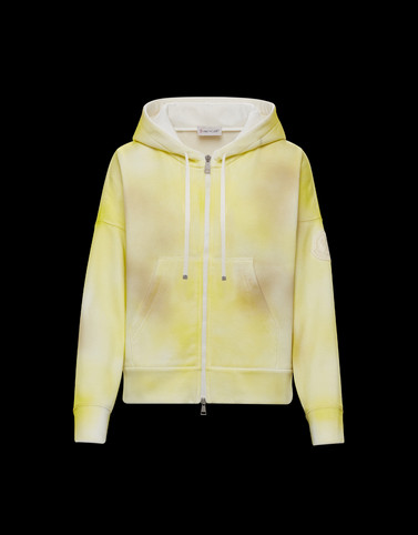 CARDIGAN Yellow Category ZIP-UP SWEATSHIRTS Woman