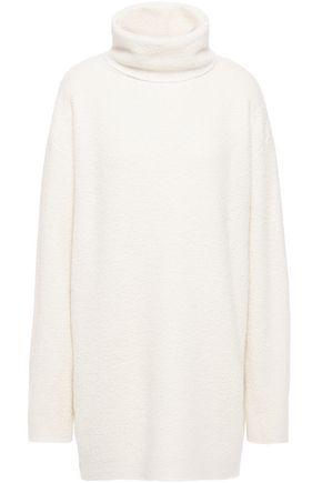 THE ROW Gene oversized bouclé-knit cashmere and silk-blend turtleneck sweater