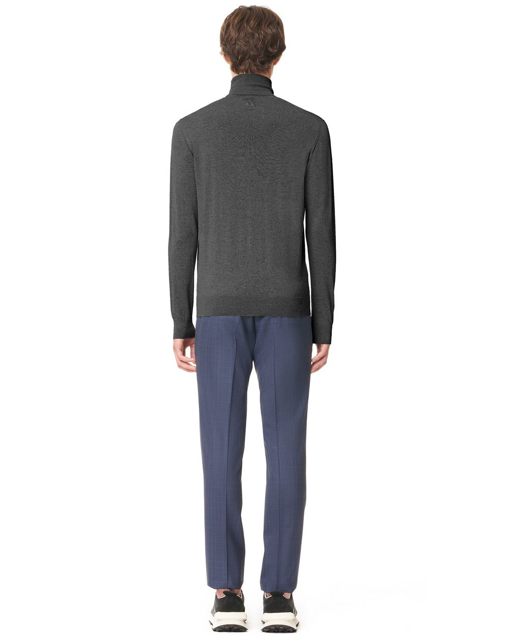 CASHMERE KNITTED TURTLE NECK SWEATER - Lanvin