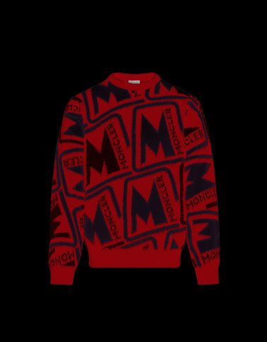 CREWNECK Red Knitwear & Sweatshirts Man
