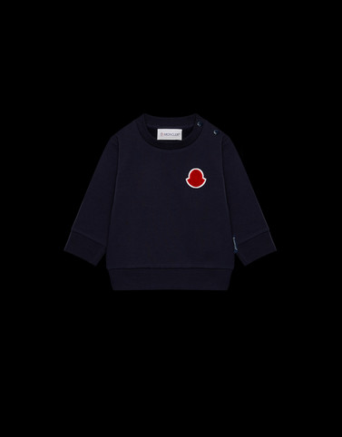 CREWNECK SWEATSHIRT Dark blue Baby 0-36 months - Boy Man
