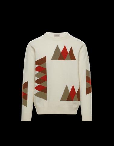 CREWNECK Beige Knitwear & Sweatshirts Man